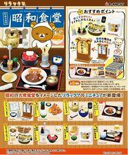 Pré Neuf Re-Ment Rilakkuma Showa Cafétéria Shokudo Boîte Lot de 8 Types de Japon