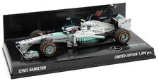 F1 1/43 MERCEDES W04 HAMILTON USA GP 2013 MINICHAMPS