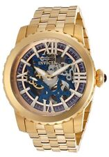 Invicta 14551 Specialty Mechanical 18K Gold Plated SS Skeletonized Men's Watch