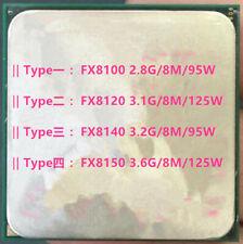 AMD FX-8100 FX-8120 FX-8140 FX-8150 Socket AM3+  Desktop CPU