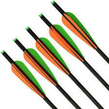 6X 16 inch Crossbow Bolts Hybrid Carbon Arrow 2219# for Archery Target Hunting