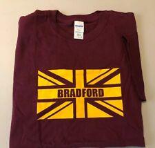 Bradford City Fans Adult Size Large T-shirt - Union Jack British English