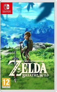 The Legend of Zelda: Breath of the WildNintendo Switch (bien lire l'annonce)
