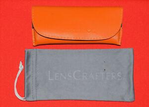 Lenscrafters Eyeglasses / Sunglasses Case Storage Holder Microfiber Pouch Bag