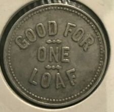 1920 -1930 Australian Cessnock District Co Op Society LTD 1 Loaf Token (c)