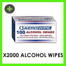 Alcohol Skin Wipes x2000