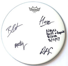 THE NIEVES – EXIST AND EXPIRE - SIGNED DRUM SKIN