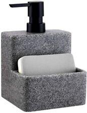 zccz Soap Dispenser Sponge Holder Liquid Hand Dish Soap Dispenser Pump Bottle