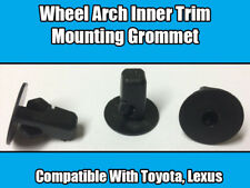 10x Clips For Toyota Lexus Screw Mounting Grommet Wheel Arch Inner Bumper Trim