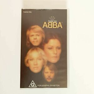 Thank You ABBA VHS Movie Tribute Video PAL