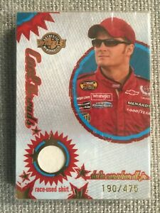 2006 Press Pass MS 25 Sealed Card Set With Dale Earnhardt Jr Shirt #/475