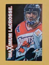1998 Buffalo Bandits Pro Lacrosse Pocket Schedule Card 🥍🥍