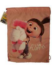 Minions Fluffy Unicorn Drawstring Swim Bag Pump Bag