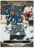 2019-20 Upper Deck MVP Hockey Gold Script #191 J.T. Miller Lightning