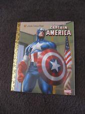 LITTLE GOLDEN BOOK...Hardcover    book...2011 The Courageous Captain America