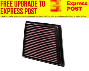 K&N Replacement Panel Filter Suit 2008-2013 Ford Fiesta 1.4, 1.6L