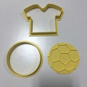 Formine Calcio Maglietta Pallone Formina Biscotti Cookie Cutter Pdz 7 Cm