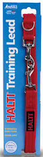 Halti Training Lead Double Ended Multi Functional Dog Leash - Large Red