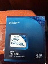 INTEL DUAL CORE PENTIUM E5200 BX80571E5200 SLAY7 2.5GHz 800MHz 2M RETAIL BOX