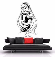 Wall Vinyl Sticker Decal Anime Manga Luka Megurine Vocaloid Girl V096