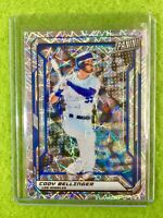 CODY BELLINGER PRIZM CARD JERSEY #35 DODGERS /99 SP REFRACTOR  2019 National VIP