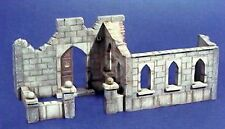 Royal Model 1/35 Church Ruin Section [Plaster Diorama Model kit] 012