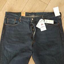 Mens Levi's 501 jeans 2-way stretch W42 L34, NEW