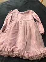 Little White Company Girls pink dress