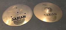 "Sabian 14"" 36cm Aa Flat Hi Hats Drum Pair Cymbal"