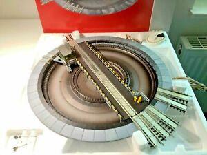 Fleischmann 665201 (AC) Elektrische Drehscheibe für Märklin System, NEU & OVP!