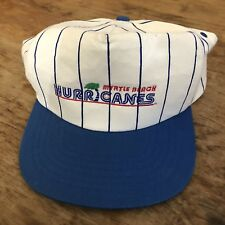 Vintage Myrtle Beach Hurricanes Minor League Baseball Snapback Hat Pinstripe