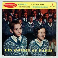 LES GOSSES DE PARIS Bondy Vinyle 45T EP BANJO BOY - OLD MAN RIVER -PRESIDENT 226