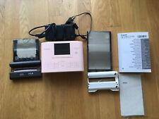 Canon 2236C002 SELPHY CP 1300 Fotodrucker - Rosa gut erhalten WiFi + Druckmateri