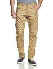 Jack and Jones Men's Dale Colin Twist Relaxed Jeans Beige UK Size W34 L32