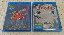 Spirited Away + Whisper of the Heart Blu-ray Pack (Japan Import) New - Open Box