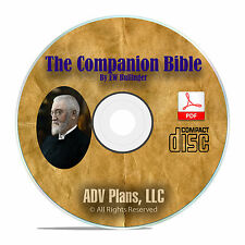 E.W. Bullinger's The Companion Bible, Bible Study Commentary, Students DVD F01