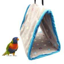 3 Sizes Pet Bird Hammock Hanging Cave Cage Parrot Hut Tent Winter Warm Bed Bunk