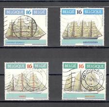 R6548 - BELGIO 1995 - SERIE COMPLETA VELIERI - VEDI FOTO