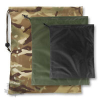 MILITARY STASH SACK DRY DRI BAG WATER RESISTANT CAMOUFLAGE CAMPING MILITARY