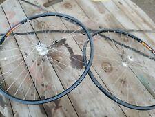 Dura ace wheelset, clincher, mavic ceramic, road bike