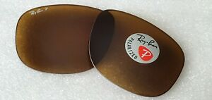 New Ray-Ban RB4147 BROWN Classic B-15 POLARIZED Replacement lenses 60mm