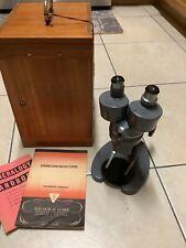 Vintage Bausch & Lomb Microscope DB 3120