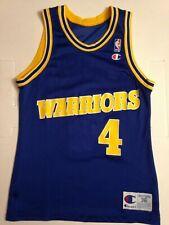 JERSEY MAILLOT NBA CHAMPION WARRIORS CHRIS WEBBER