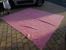 More details for vintage very large 9`x8` reversible paisley pattern durham welsh quilt bedspread