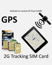 NEW Giffgaff SIM Card for Tracker GPS Smart Watch Giff Gaff GSM 2G Pet Elderly