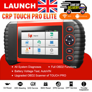 LAUNCH X431 CRP TOUCH PRO Elite Car Diagnostic Tool OBD2 Scanner Full System EPB