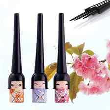 Cute Doll Eyeliner Black Waterproof Liquid Eye Liner Pen Pencil Make Up Cosmetic