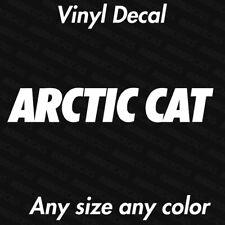 "Arctic Cat Logo Decal | Logo Vinyl Die Cut Sticker 4"" to 15"""