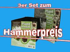 Plant Basket 3 er Set. Teichpflanzkörbe