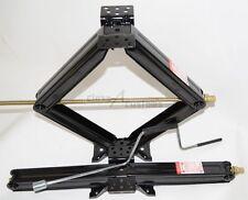 """Two 30"""" 5000 lb RV Scissor Leveling Jacks Trailer jack camper 2-30-50CR"""